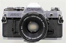 "Canon AE-1 + Canon Lens FD 50mm 1:1,8 S.C. ""Excellent"""