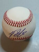 Tyler Glasnow Signed OML Baseball Tampa Bay Rays JSA Certificate Authentic