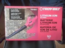 Troy-Bilt TBHB57 Lithium Ion Leaf Blower New In The Sealed Original Box