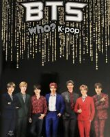 BTS WHO? KPOP-ILLUSTRATION COMIC PHOTO BOOK [178 PAGES HARD COVER] TRACKING GIFT