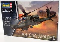 Revell 1/100 Scale Model Aircraft Kit 04985 - AH-64 Apache