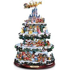 Disney Tabletop Christmas Tree Wonderful World Of Disney Rotating Musical Lights