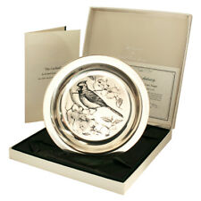Franklin Mint Bird Plate The Cardinal by Richard Evans Younger 6 Oz Sterling Sil