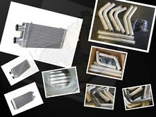 FOR 800HP INTERCOOLER + 2.5 INCH 63MM PIPING FULL PERFORMANCE COOLING KIT