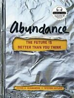 Abundance the Future is Better Than You Think mp3 CD Audiobook Brand New Sealed