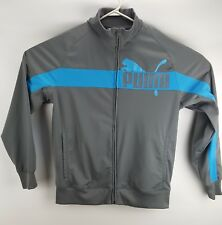 Puma Spellout Track retro tracksuit jacket Sz Large L