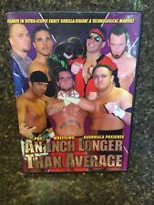 PWG Inch Longer Than Average DVD Wrestling CM Punk RARE WWE ROH AEW SCU NXT