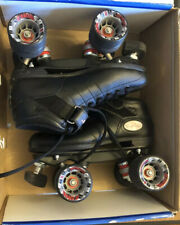Riedell Roller Skates Model R3 Black Cay Wheel Color Size 5 Med