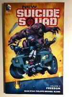 NEW SUICIDE SQUAD volume 3 Freedom (2016) DC Comics TPB 1st FINE