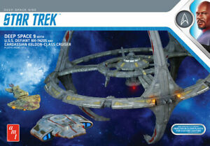 STAR TREK DEEP SPACE NINE SPACE STATION AMT NEW! PRE-SALE