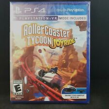 Rollercoaster Tycoon Joyride (PS4 / PlayStation 4) BRAND NEW