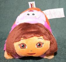 """PILLOW PETS PEE-WEES DORA THE EXPLORER w/ BACKPACK 11"""" x 11"""""""