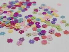 5000 Mixed Color 6mm Flat Mini Flowers Loose sequins Paillettes Sewing Wedding