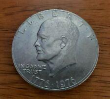 1776-1976 P Eisenhower Bicentennial One Dollar Coin, Type 2 Extra Fine