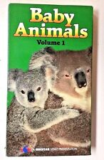 Baby Animals (1989 Questar VHS Cassette Playtested The Discovery Channel)