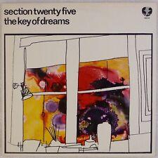 SECTION 25 TWENTY FIVE: Key of Dreams '82  Factory Benelux FBN 14 LP NM-