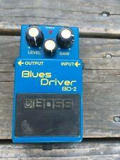 Boss Blues Driver BD-2 Overdrive distortion Guitar Pedal