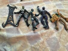 Spider-Man 3 Action Figure Lot Set Of Four (2007) Used