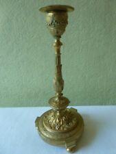 Bougeoir En Bronze Doré Louis XVI Numéroté Ciselé