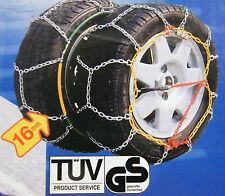 stabile Schneeketten 215/65 R 16 mit Ö-Norm V5117 VW Tiguan Transporter T5  3916