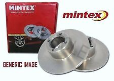 NEW MINTEX MDC 951. PAIR OF REAR BRAKE DISCS. MITSUBISHI, KIA. HYUNDAI, PROTON'
