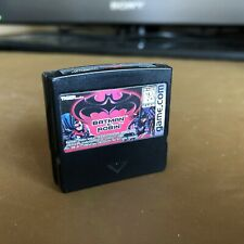 Batman & Robin Video Game.Com Tiger Cart Only Used Free P&P