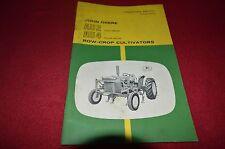 John Deere Au2 Au4 Cultivator Operator's Manual Bwpa