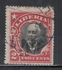 Liberia # M4 USED LFF 1916 Military COMPLETE DATE 31 V 17