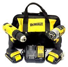 Dewalt DCF885 DCD771 Impact Driver Drill Set