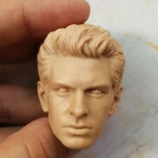Blank 1/6 Scale Peter Parker Spider-Man Andrew Garfield Head Sculpt Unpainted