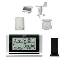 Estación meteorológica/atmosférica inalámbrica de previsión y panel solar/WMR180
