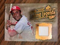 2005 SP Legendary Cuts Lasting Legends Tony Perez Cincinnati Reds Jersey NrMt