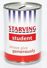 Starving Student Fund | Savings Tin - STANDARD - Savings Jar, Money Tin