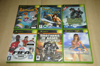 lot 6 jeux XBOX : Rayman, Prince of Persia, Dead or Alive, Medal of Honnor... VF