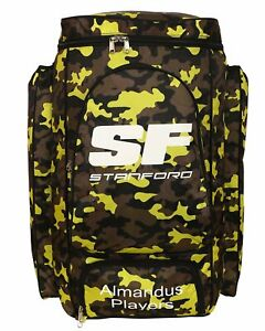 SF Almandus Players Blue Camouflage Duffle Kit Bag - Backpack/Duffle - Large