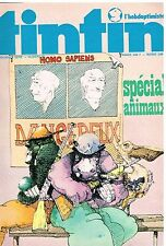 B15- Tintin l'hebdoptimiste N°80 Le rayon U,Ric Hochet