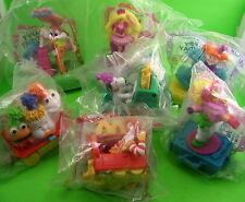 7 McDonalds Happy Birthday Train Toy 1994 Ronald Barbie Peanuts Muppet Tiny Toon