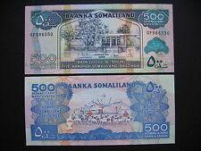 SOMALILAND  500 Shillings 2008  (P6g)  UNC