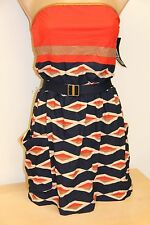 NWT Marc by Marc Jacobs Bikini Swimsuit Cover Up Dress INK Blue Size S $186