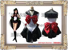 A7 Sailor Moon Cosplay Costume Mingou setsuna Sailor pluto