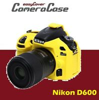 Protective Yellow Silicone Armor for Nikon D600 / D610 by easyCover camera case