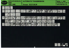 Audi 5000 1984-1988_Repair Manual_automatic transmission_Microfich_Fich_fiche