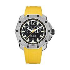 New Nautica Men's NVL100 Yellow Resin Watch #N24518G