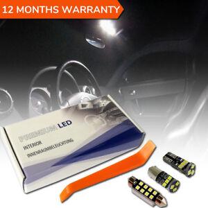 Audi TT LED Interior Kit MK1 8N3 Premium Set 8 SMD Bulbs White Error Free 96-06