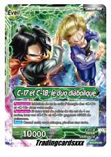 ♦Dragon Ball Super♦ C-17 et C-18, le duo diabolique [LEADER] : BT2-070 UC -VF-