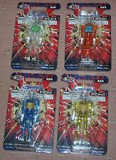 Takara Microman UFO-game Prizes Edition-M101-M104-Set of 4 Figures