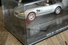 DIECAST JAMES BOND 007 BMW Z8 FROM THE FILM THE WORLD IS NOT ENOUGH 1/43