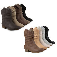Designer Damen Stiefelette 95262 Gr. 36-41 Schuhe
