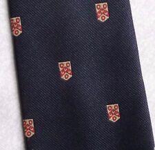 Vintage Tie Mens Necktie SHIELD CRESTED Club Association Society