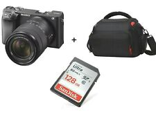 Sony Alpha a6400 Mirrorless with 18-135mm Lens + Case + 128gb Sd / Stock In Uk